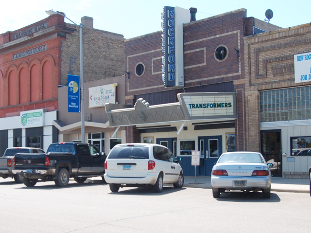 Picture of Rockford, ND movie theater